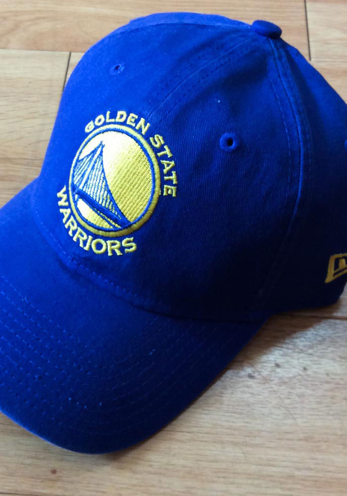 New Era Golden State Warriors Core Classic 9TWENTY Adjustable Hat - Blue - Image 5