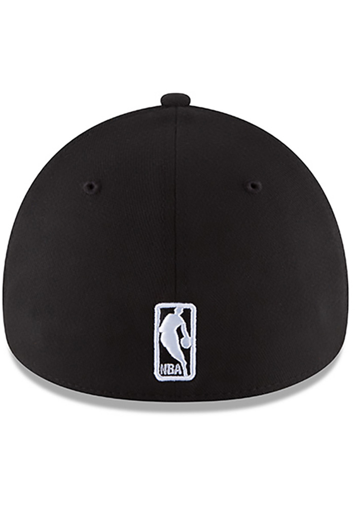 New Era Los Angeles Lakers Mens Black Team Classic 39THIRTY Flex Hat -  Image 5 82b0fc656d98