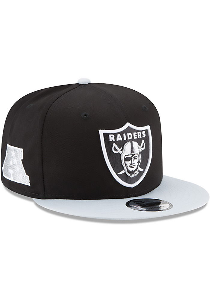 New Era Las Vegas Raiders Black Baycik 9FIFTY Mens Snapback Hat - Image 2