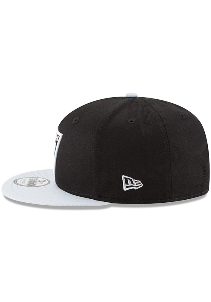 New Era Las Vegas Raiders Black Baycik 9FIFTY Mens Snapback Hat - Image 3