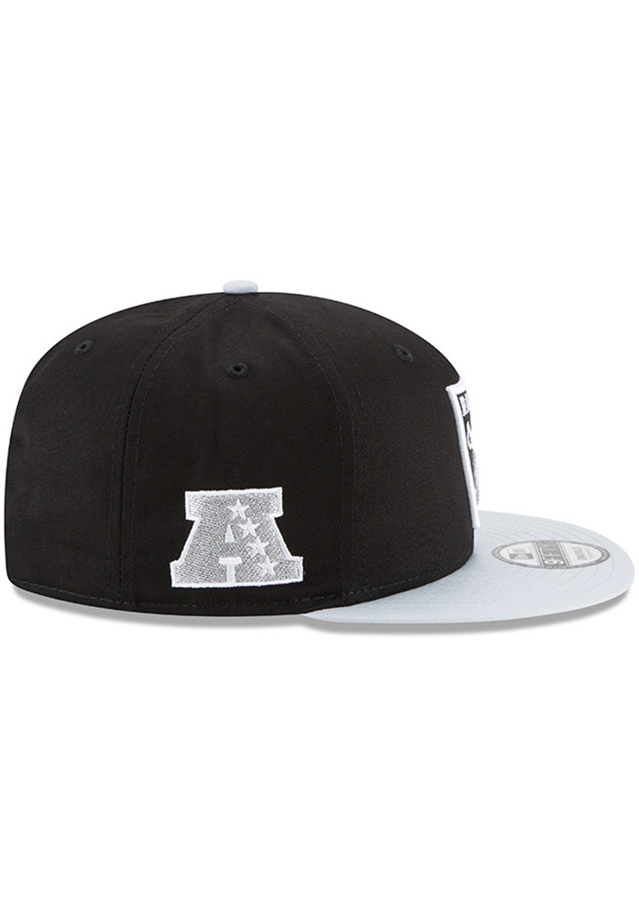 New Era Las Vegas Raiders Black Baycik 9FIFTY Mens Snapback Hat - Image 5