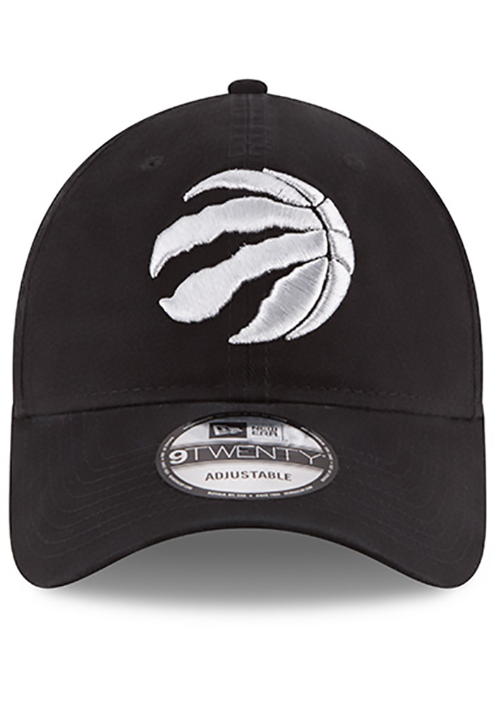 New Era Toronto Raptors Mens Black Core Classic 9TWENTY Adjustable Hat - Image 3