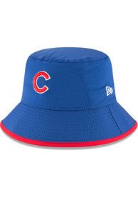New Era Chicago Cubs Blue 2018 Clubhouse Youth Bucket Hat