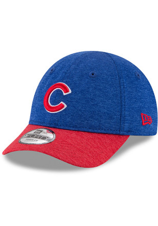 f9c28acdacb9e0 ... New Era Chicago Cubs Blue Shadowed Tot 9FORTY Infant Adjustable Hat ...