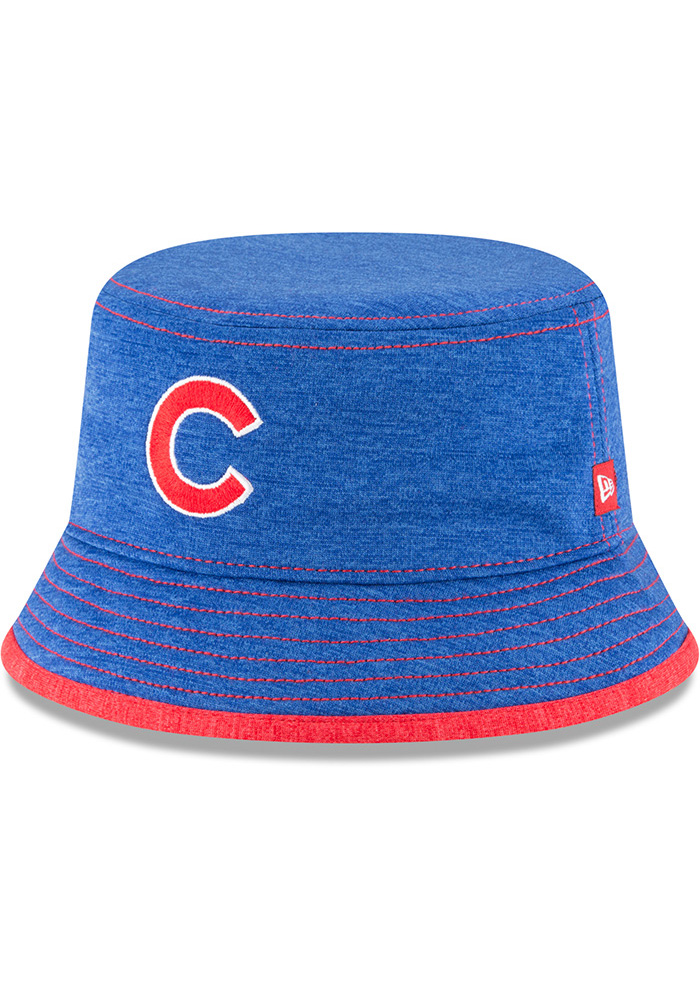 New Era Chicago Cubs Blue Shadowed Tot Baby Sun Hat - Image 1