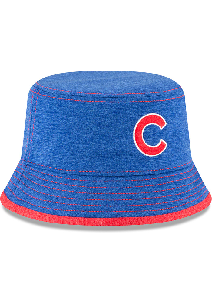 New Era Chicago Cubs Blue Shadowed Tot Baby Sun Hat - Image 2
