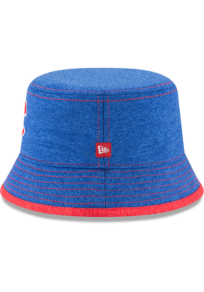 New Era Chicago Cubs Blue Shadowed Tot Baby Sun Hat - Image 4