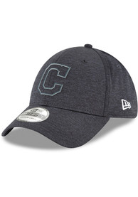 New Era Cleveland Indians Navy Blue 2018 Clubhouse Jr 39THIRTY Youth Flex Hat