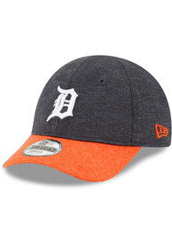 New Era Detroit Tigers Baby Shadowed Tot 9FORTY Adjustable Hat - Navy Blue
