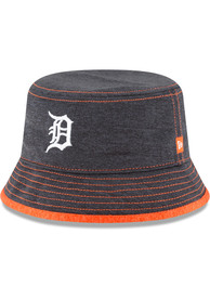 Detroit Tigers Baby New Era Shadowed Tot Sun Hat - Navy Blue