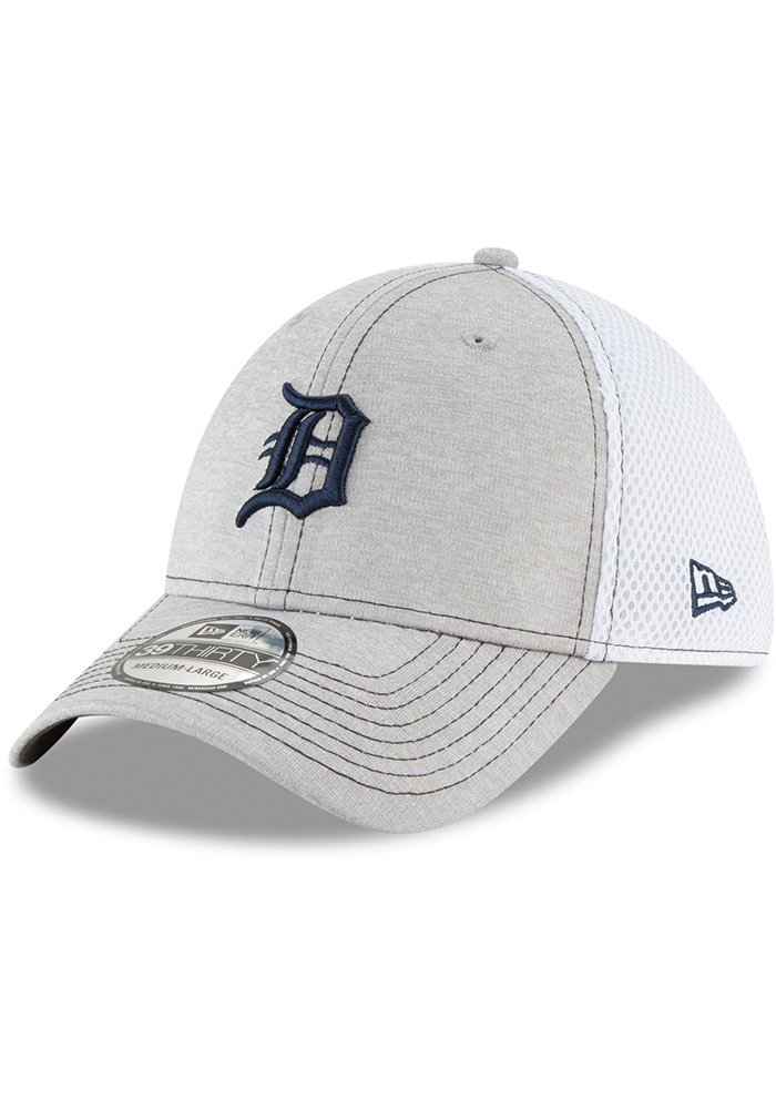 New Era Detroit Tigers Mens Grey Classic Shade Neo 39THIRTY Flex Hat -  Image 1 0b77ecfd5