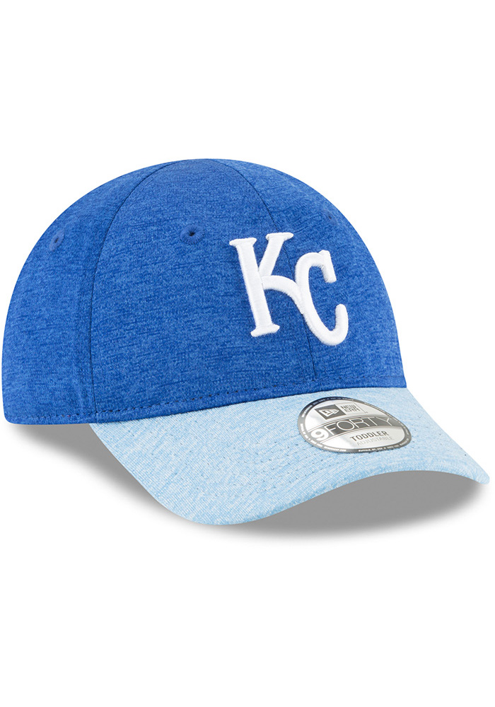 New Era Kansas City Royals Baby Shadowed Tot 9FORTY Adjustable Hat - Blue - Image 2