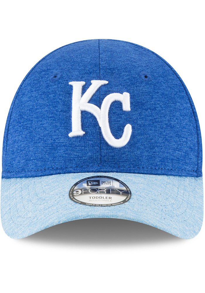 New Era Kansas City Royals Baby Shadowed Tot 9FORTY Adjustable Hat - Blue - Image 3