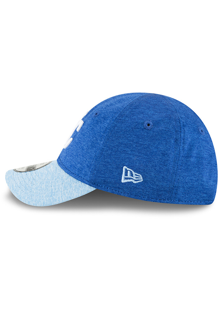 New Era Kansas City Royals Baby Shadowed Tot 9FORTY Adjustable Hat - Blue - Image 4