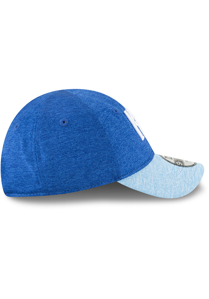 New Era Kansas City Royals Baby Shadowed Tot 9FORTY Adjustable Hat - Blue - Image 5