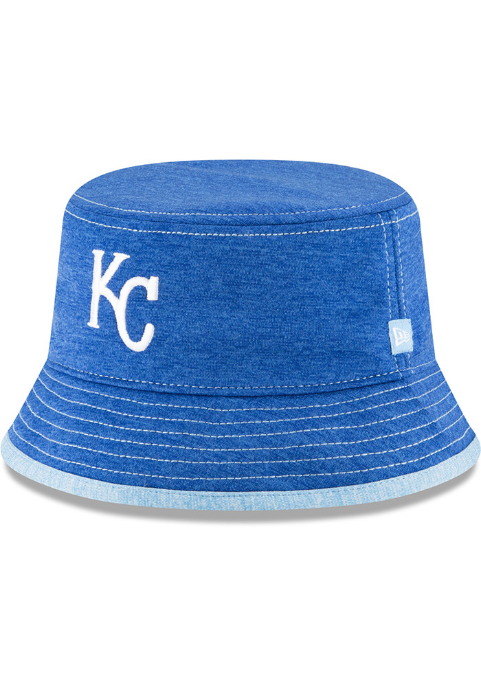 New Era Kansas City Royals Blue Shadowed Tot Baby Sun Hat - Image 1
