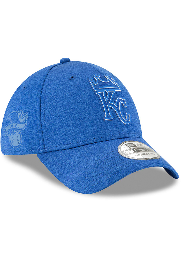 New Era Kansas City Royals Blue 2018 Clubhouse Jr 39THIRTY Youth Flex Hat - Image 2