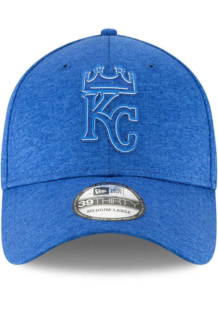 New Era Kansas City Royals Blue 2018 Clubhouse Jr 39THIRTY Youth Flex Hat - Image 3