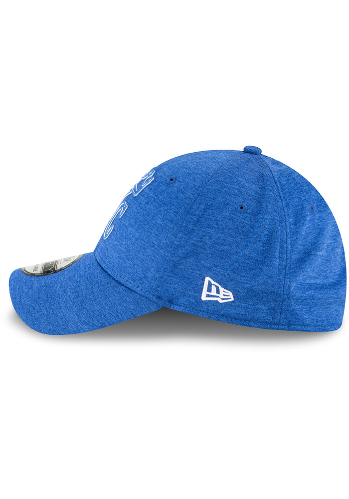 New Era Kansas City Royals Blue 2018 Clubhouse Jr 39THIRTY Youth Flex Hat - Image 4