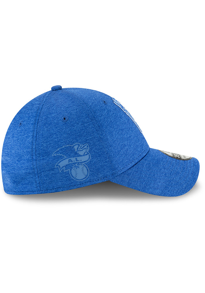 New Era Kansas City Royals Blue 2018 Clubhouse Jr 39THIRTY Youth Flex Hat - Image 6