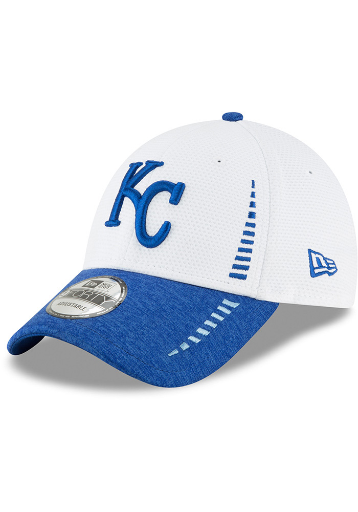 New Era Kansas City Royals NE Speed Tech 2 9FORTY Adjustable Hat - White - Image 1