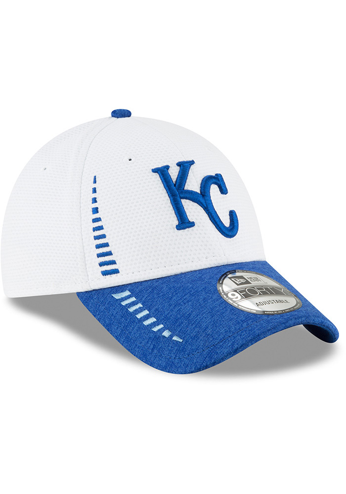 New Era Kansas City Royals NE Speed Tech 2 9FORTY Adjustable Hat - White - Image 2