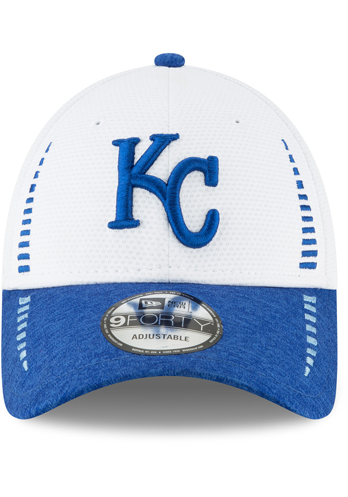 New Era Kansas City Royals NE Speed Tech 2 9FORTY Adjustable Hat - White - Image 3
