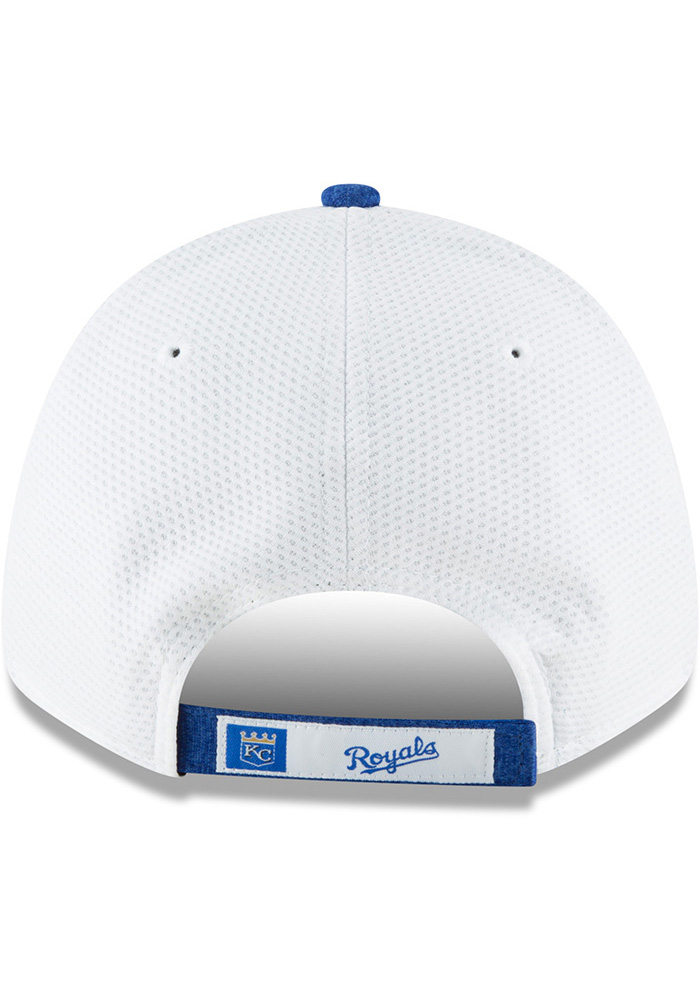 New Era Kansas City Royals NE Speed Tech 2 9FORTY Adjustable Hat - White - Image 5