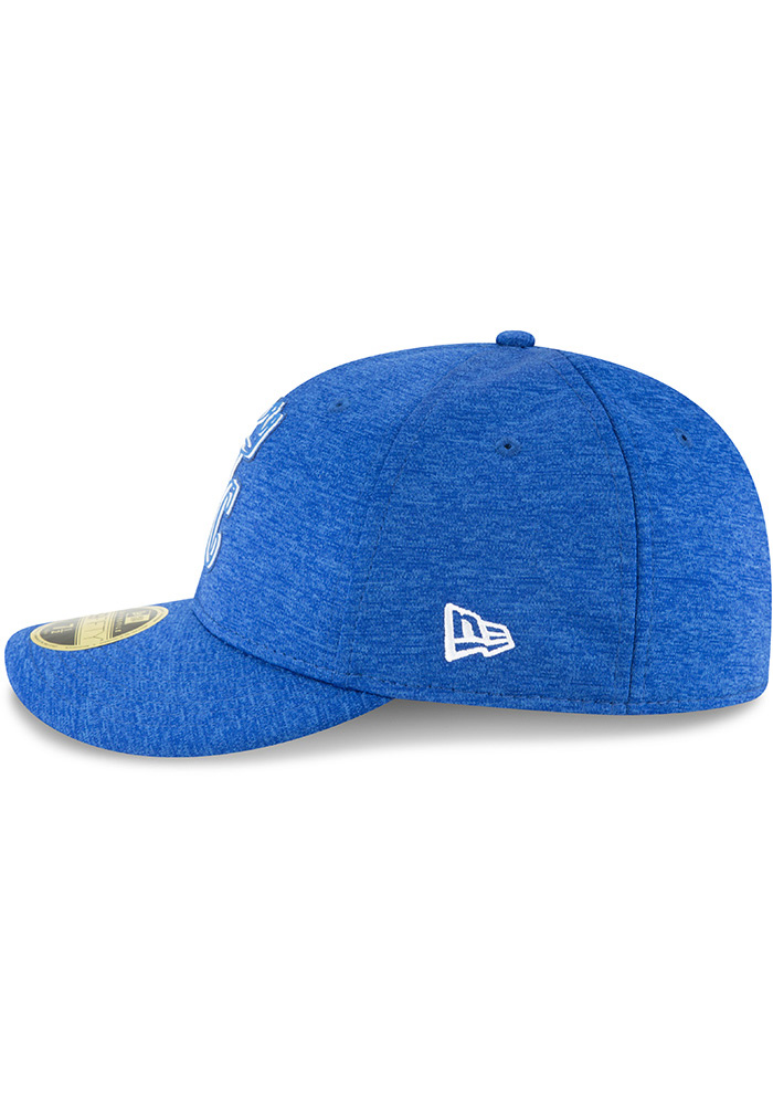 New Era Kansas City Royals Mens Blue 2018 Clubhouse LP 59FIFTY Fitted Hat - Image 4