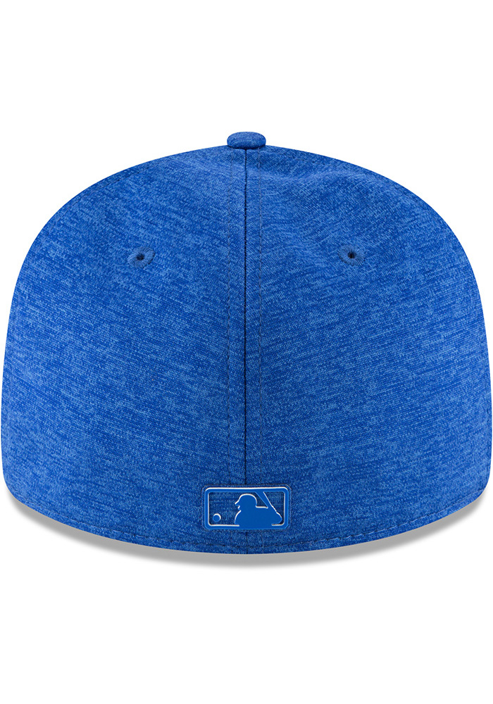 New Era Kansas City Royals Mens Blue 2018 Clubhouse LP 59FIFTY Fitted Hat - Image 6