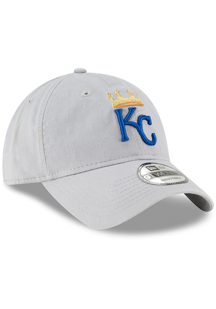 New Era Kansas City Royals Core Classic Twill 9TWENTY Adjustable Hat - Grey - Image 2