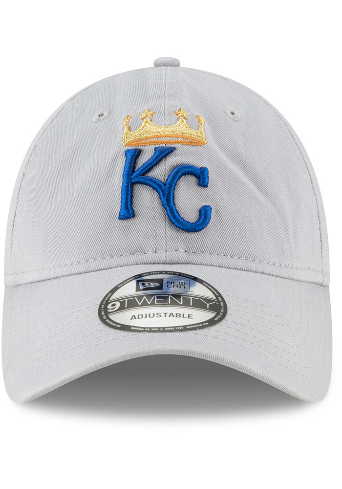 New Era Kansas City Royals Core Classic Twill 9TWENTY Adjustable Hat - Grey - Image 3