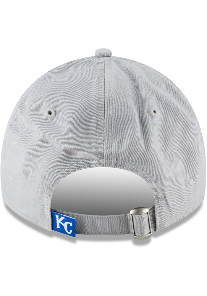 New Era Kansas City Royals Core Classic Twill 9TWENTY Adjustable Hat - Grey - Image 5