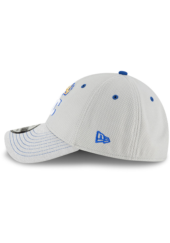timeless design 40d24 0df74 New Era Kansas City Royals Mens Grey Vigor Shade 39THIRTY Flex Hat - Image 4