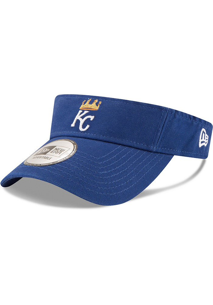 New Era Kansas City Royals Mens Blue Dugout Visor Adjustable Visor - Image 1