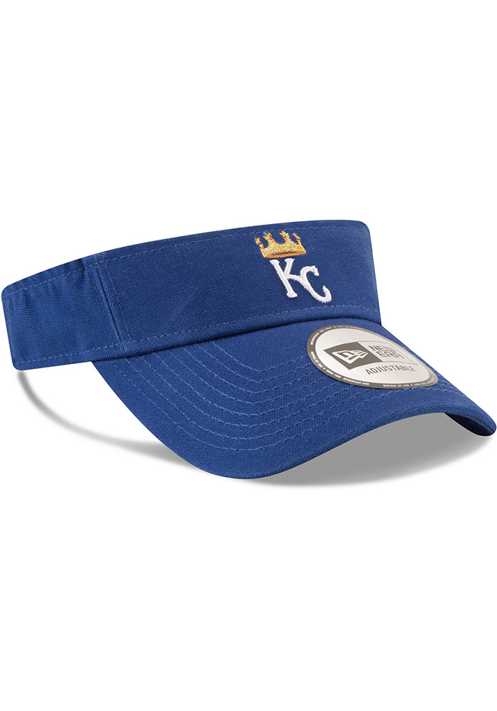 New Era Kansas City Royals Mens Blue Dugout Visor Adjustable Visor - Image 2
