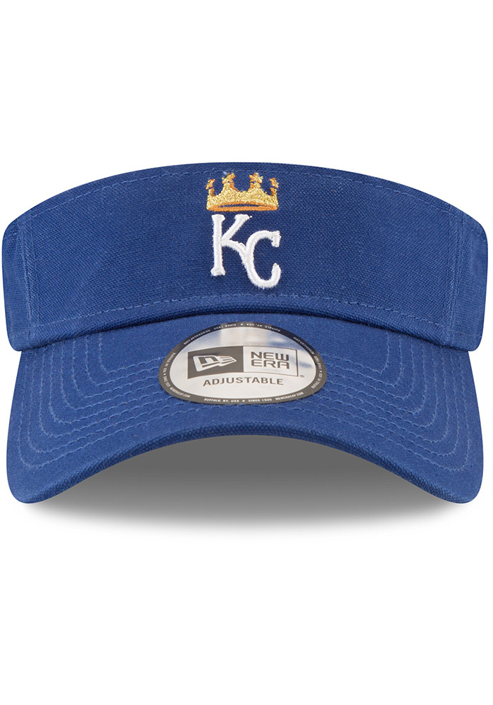 New Era Kansas City Royals Mens Blue Dugout Visor Adjustable Visor - Image 3
