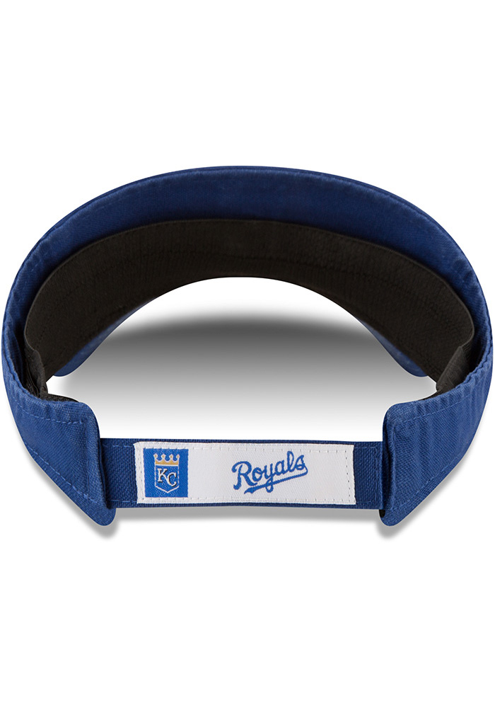 New Era Kansas City Royals Mens Blue Dugout Visor Adjustable Visor - Image 5