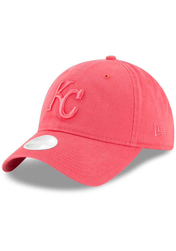 New Era Kansas City Royals Orange Core Classic 9TWENTY Womens Adjustable Hat - Image 1