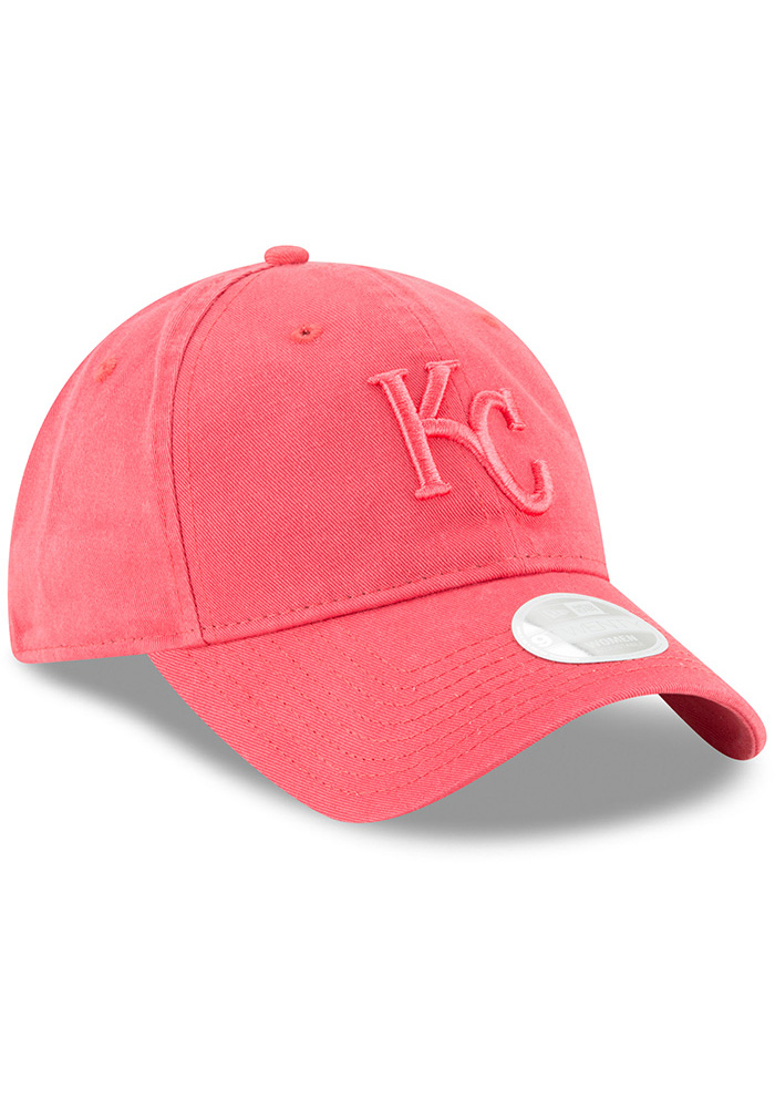 New Era Kansas City Royals Orange Core Classic 9TWENTY Womens Adjustable Hat - Image 2