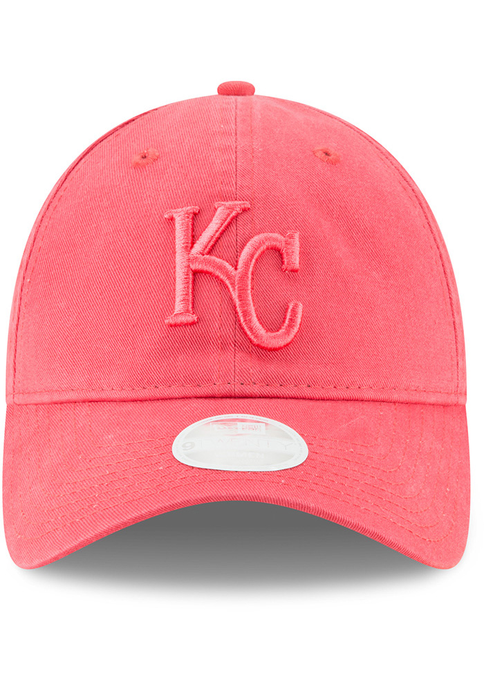 New Era Kansas City Royals Orange Core Classic 9TWENTY Womens Adjustable Hat - Image 3