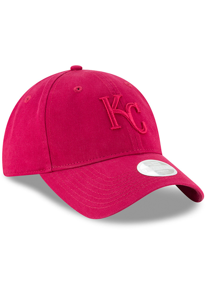 New Era Kansas City Royals Pink Core Classic 9TWENTY Womens Adjustable Hat - Image 2
