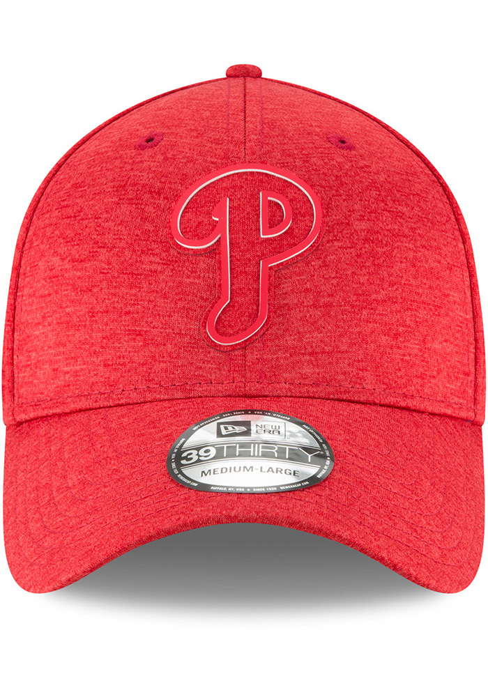 New Era Philadelphia Phillies Red 2018 Clubhouse Jr 39THIRTY Youth Flex Hat - Image 3