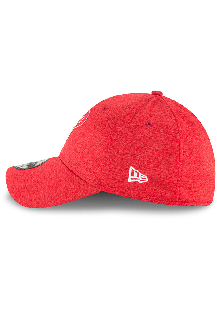 New Era Philadelphia Phillies Red 2018 Clubhouse Jr 39THIRTY Youth Flex Hat - Image 4