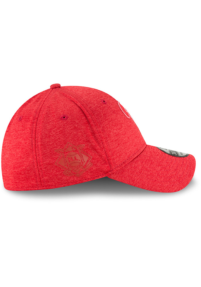 New Era Philadelphia Phillies Red 2018 Clubhouse Jr 39THIRTY Youth Flex Hat - Image 6
