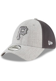 outlet store a9c08 57eae New Era Pittsburgh Pirates Grey Heathered Neo Pop 39THIRTY Flex Hat