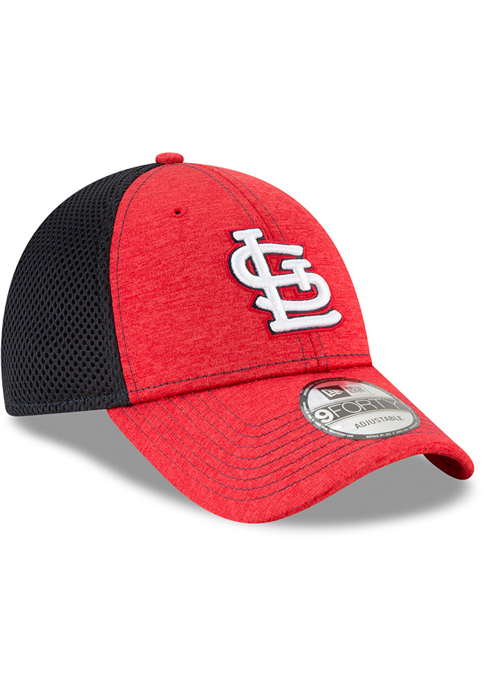 New Era St Louis Cardinals Shadow Turn 2 9FORTY Adjustable Hat - Red - Image 2