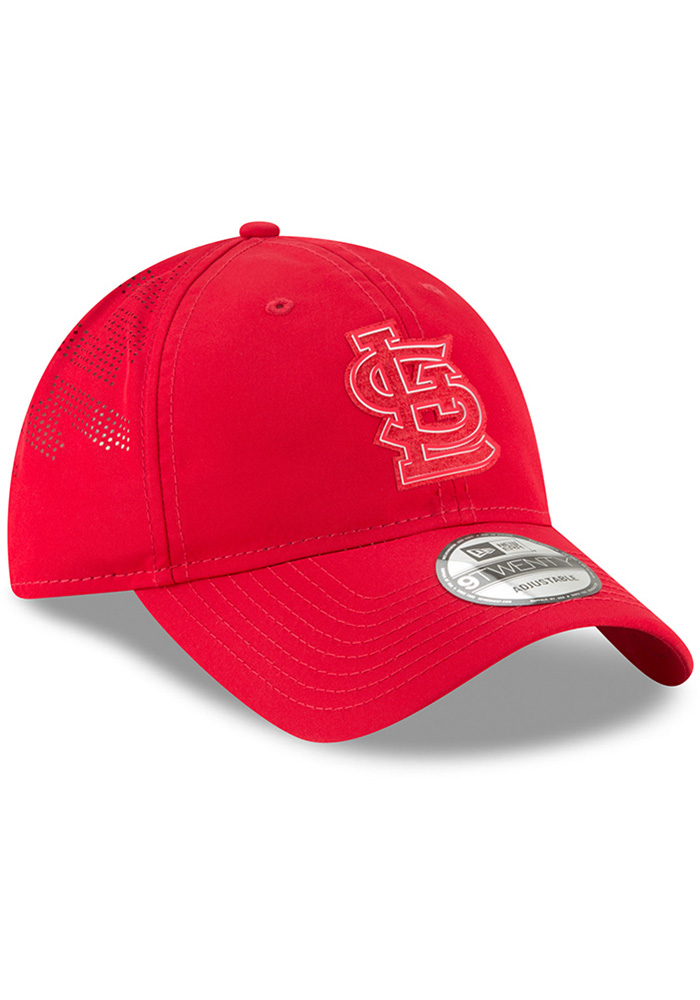 New Era St Louis Cardinals Red 2018 Clubhouse Jr 9TWENTY Youth Adjustable Hat - Image 2