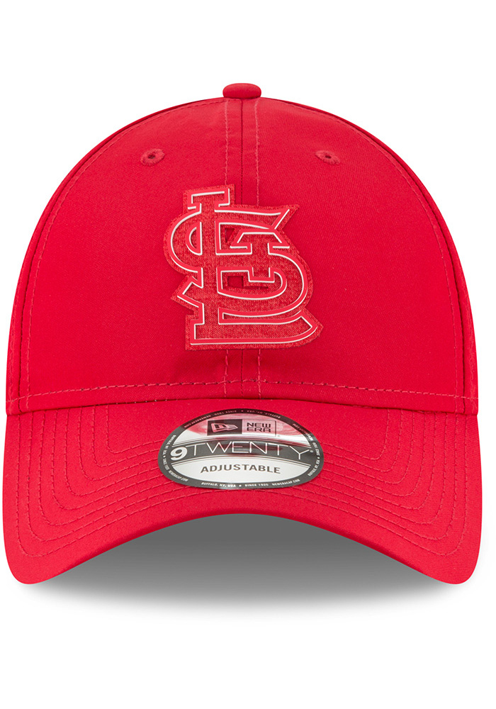 New Era St Louis Cardinals Red 2018 Clubhouse Jr 9TWENTY Youth Adjustable Hat - Image 3
