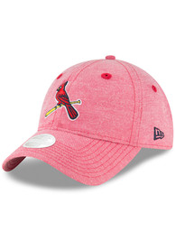 check out f2d38 b22dc New Era St Louis Cardinals Red Team Linen 9TWENTY Youth Adjustable Hat